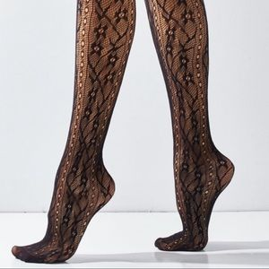Out From Under Allover Lace Tights